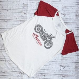 Lucky Brand Indian Motorcycle Tee
